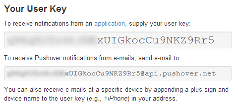 Сервис push уведомлений Pushover для Android и iOS в связке с PHP
