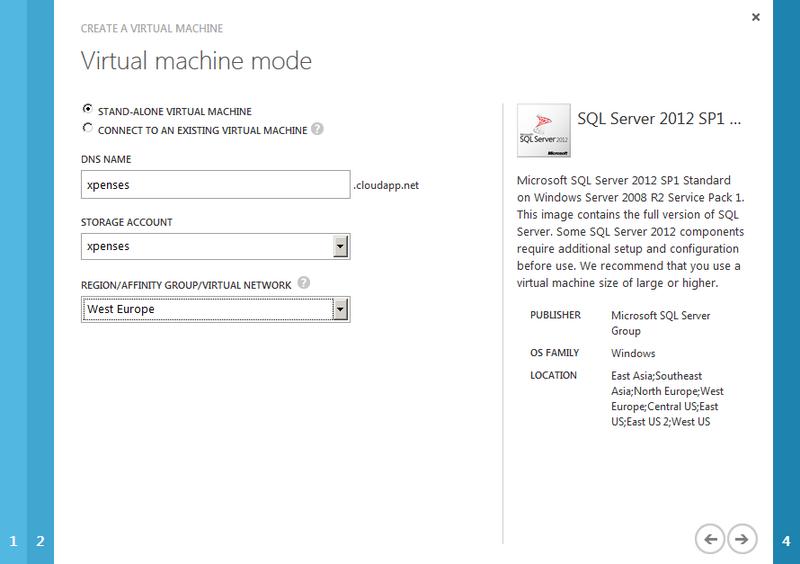 Сервисы SQL Reporting в облаках. Часть 2: Настройка