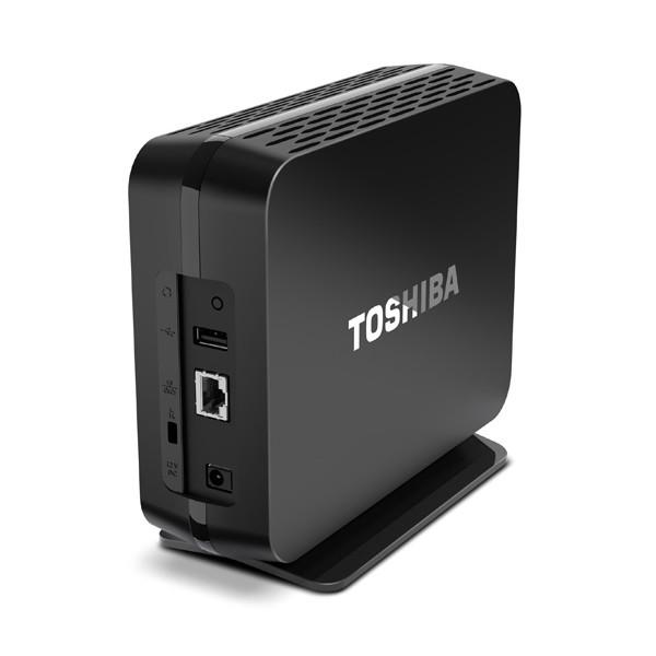 Компания Toshiba представила накопитель с сетевым подключением Canvio Home Backup & Share