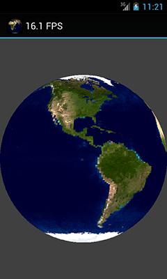 Сфера из двух треугольников