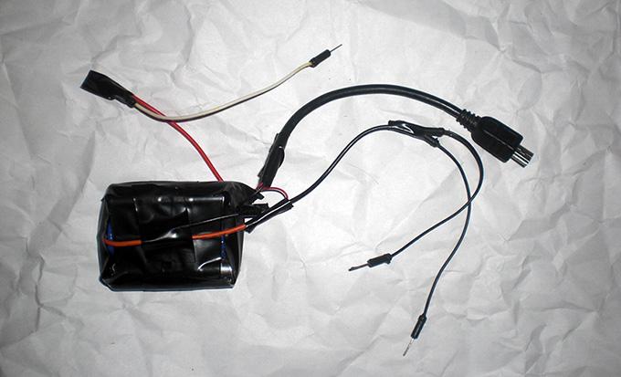 Шагающий робот на LaunchPad MSP430