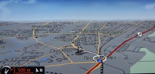 Штатные навигации на примере BMW, краткий экскурс