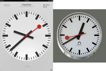 Дизайнеры Apple украли швейцарскую гордость