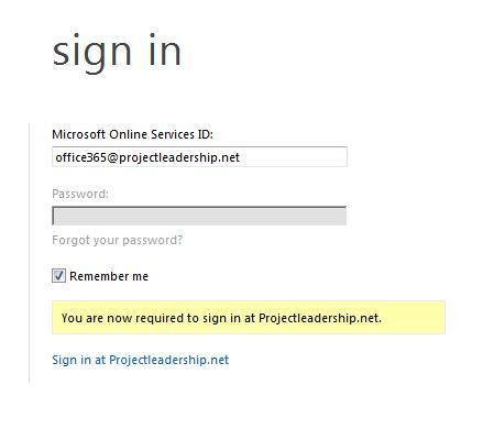 Синхронизация Office 365 с AD DS, использование AD FS 2.0 для создания Single Sign On