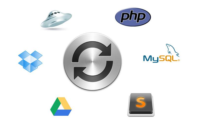Синхронизация рабочего пространства веб разработчика