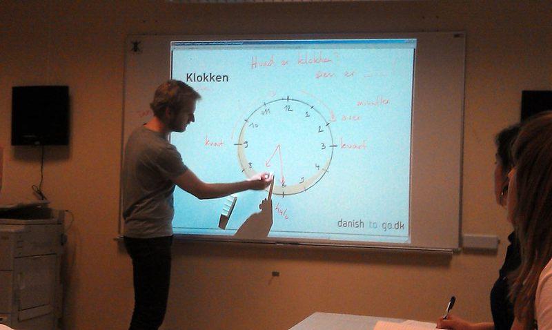 Система изучения языка в Дании