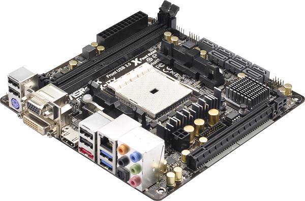 Ориентировочная цена ASRock FM2A85X-ITX — $110