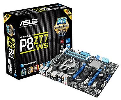 Системная плата ASUS P8Z77 WS