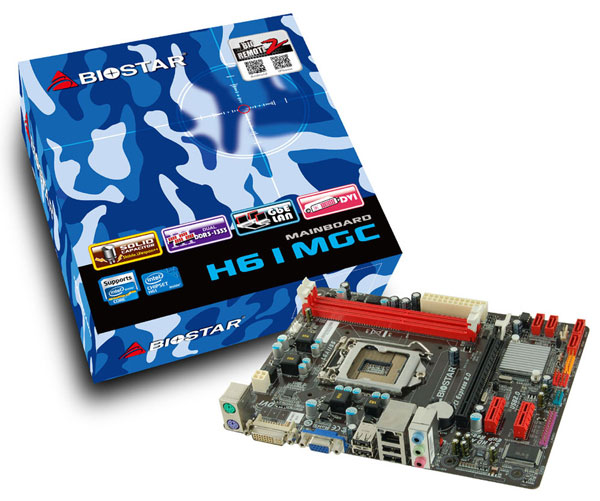 Платы Biostar H61MGC, H61MHB и H61MLV2 поддерживают процессоры Intel в исполнении LGA 1155 с TDP до 95 Вт