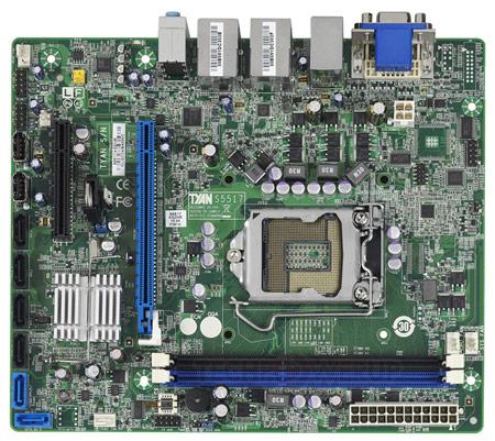 Системные платы TYAN S5515 и S5517 основаны на чипсете Intel Q67