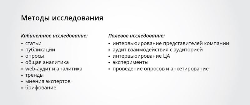 Ситуационный анализ / предпроектный этап разработки сайта