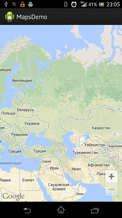 Сказ про подключение Google Maps Api v2 в android приложение