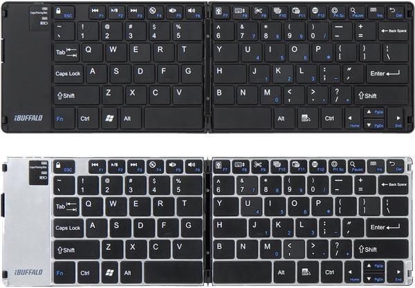 Складная клавиатура Buffalo BSKBB15 стоит примерно $86