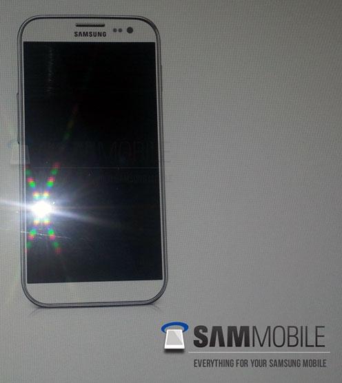 Одно из изображений того, как мог бы выглядеть Samsung Galaxy S IV
