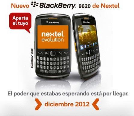 Смартфон BlackBerry Patagonia 9620 «засветился» на сайте Nextel