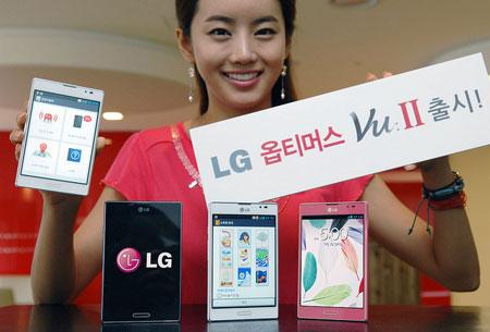 Смартфон LG Optimus Vu II