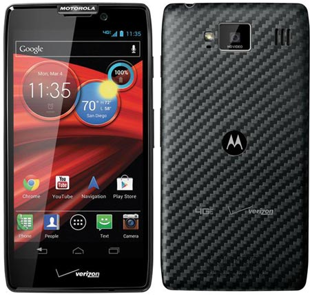 Смартфон Motorola DROID RAZR MAXX HD поддерживает LTE