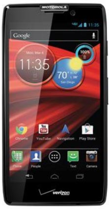 Основой Motorola Droid RAZR HD стал двухъядерный процессор Qualcomm Snapdragon S4