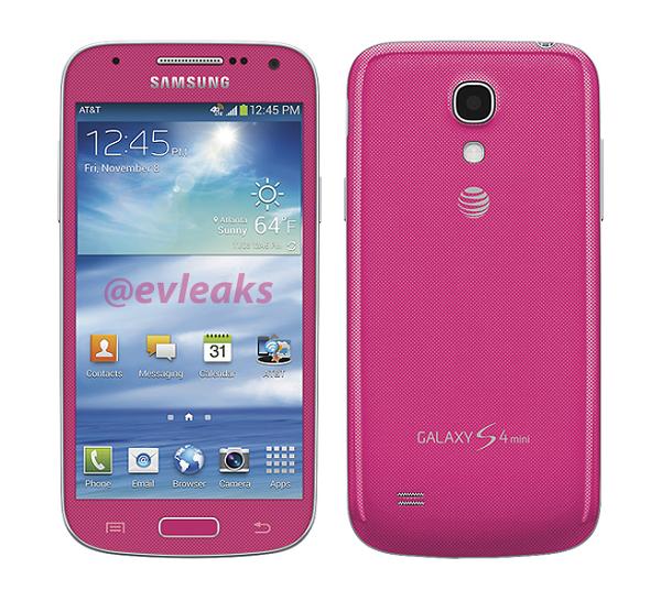Смартфон Samsung Galaxy S4 mini получит новые цветовые оформления