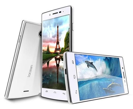 Смартфон iocean X7 оснащен камерами разрешением 13 и 3 Мп