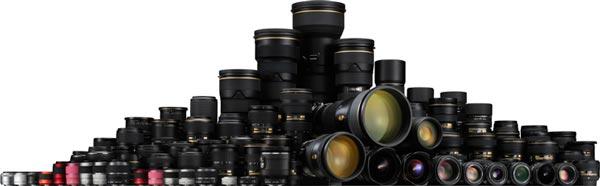Первый объектив Nikkor для зеркальных камер Nikon был выпущен в 1959 году