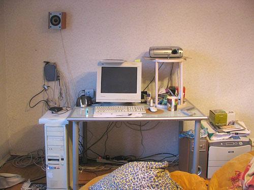 Собираем компьютерный стеллаж