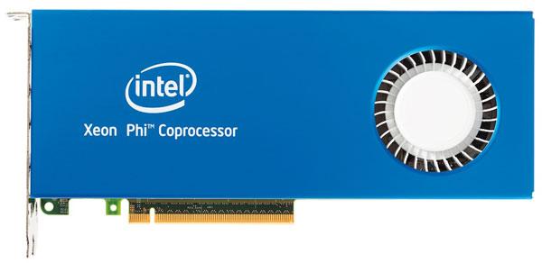 Первыми увидели свет семейства Intel Xeon Phi 3100 и 5110P