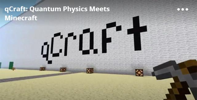 Сотрудники Google добавили квантовую физику в Minecraft