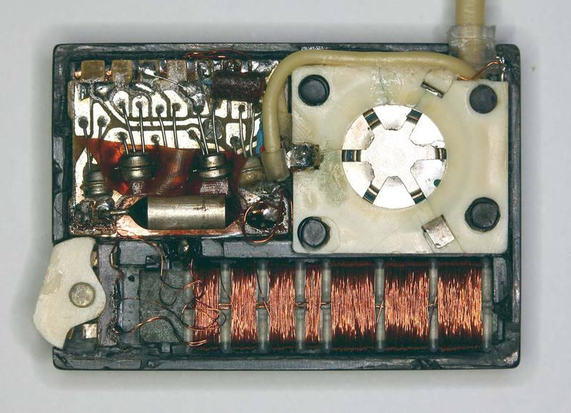 Советский радиоприемник «Микро» 1965 года