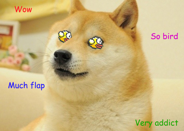 Создаем клон игры Flappy Bird используя движок физики iOS7