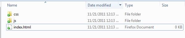Создание Windows подобного интерфейса при помощи jQuery UI. Часть 1