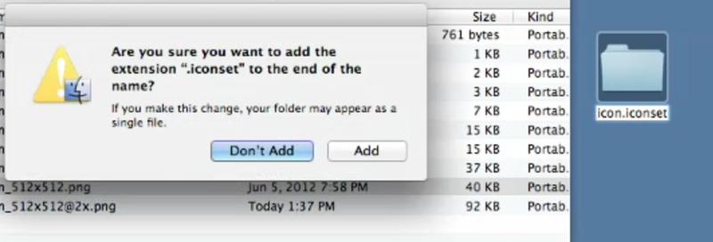 Создание иконок для приложений Mac OS X