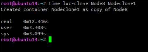 Создание метода клонирования LXC контейнеров