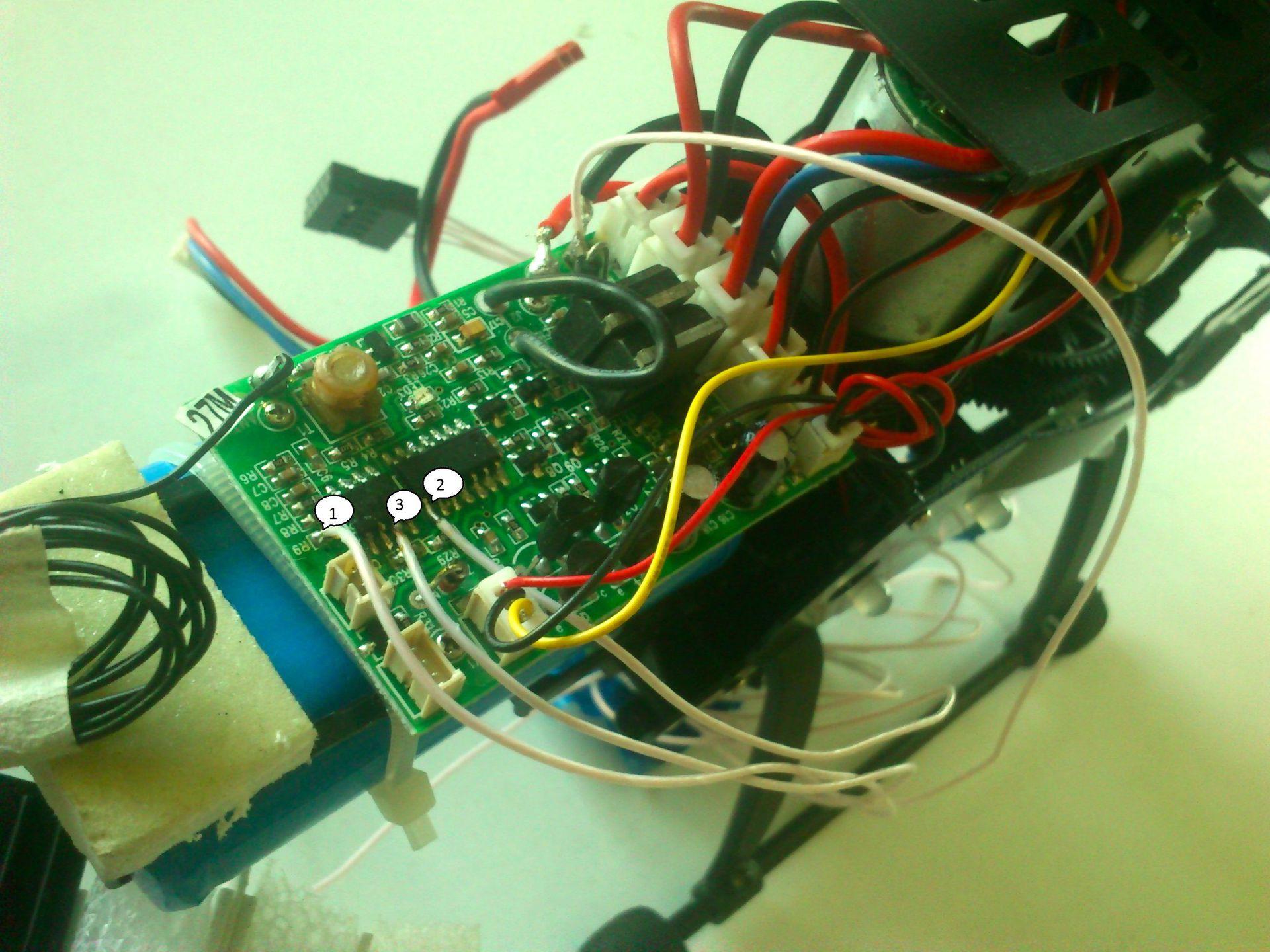 Создание своего летающего робота