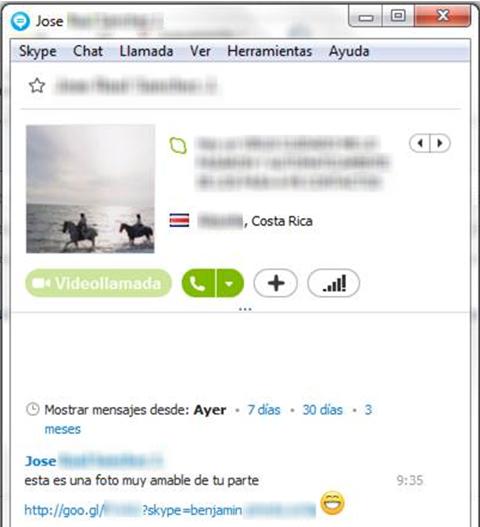 Спам кампания в Skype подвергла опасности сотни тысяч пользователей