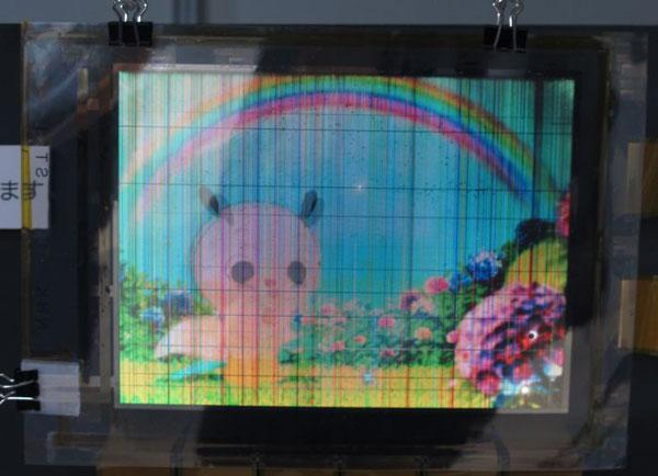 Специалистами NHK создан гибкий восьмидюймовый дисплей OLED, в котором используются транзисторы a-IGZO