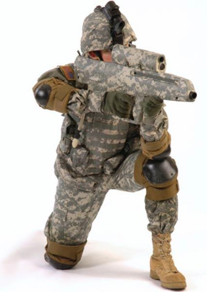 Новая униформа поможет обнаруживать угрозы и взаимодействовать с другими боевыми единицами