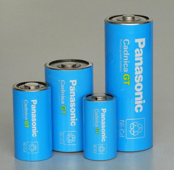 Никель-кадмиевые аккумуляторы Panasonic Cadnica GT рассчитаны на работу при температурах до -40°С