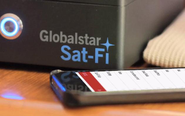 Спутниковый роутер Globalstar Sat Fi раздаёт интернет на обычные гаджеты