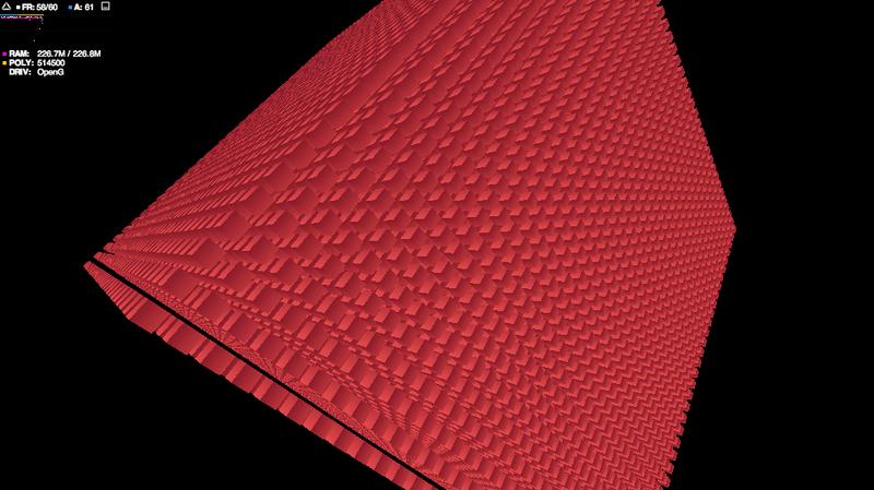 Сравнение производительности Stage3D vs WebGL или сокрушительная победа Flash