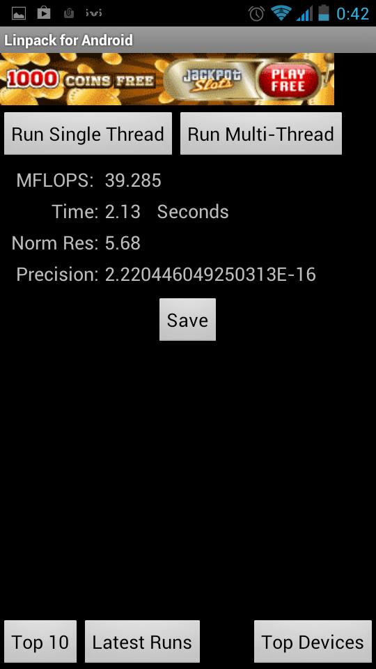 Сравнение производительности Xamarin (monodroid) и Java (DalvikVM) на Android устройствах