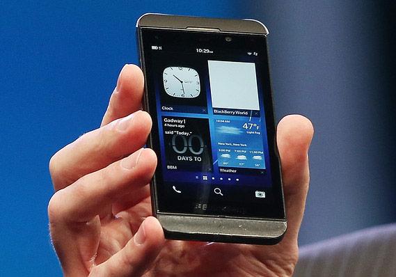 Среди покупателей BlackBerry Z10 много тех, кто впервые пробует продукцию BlackBerry
