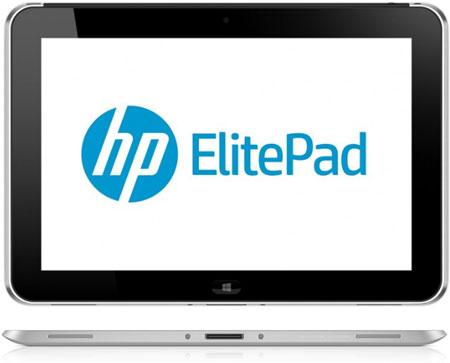 Стали известны подробности о планшете HP ElitePad 900: платформа Intel Clover Trail обеспечивает до 10 часов автономности