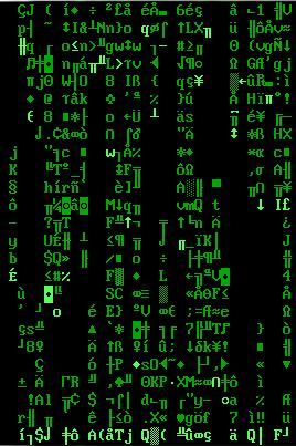 Старая, добрая «The Matrix» или визуализатор для матрицы версии один