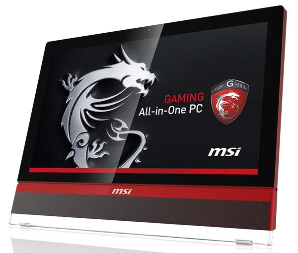 Игровой моноблок MSI AG2712 имеет 27-дюймовый экран