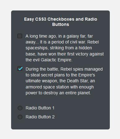 Стилизованные чекбоксы и радиобаттоны: label в 2+ строки или мои 5 копеек