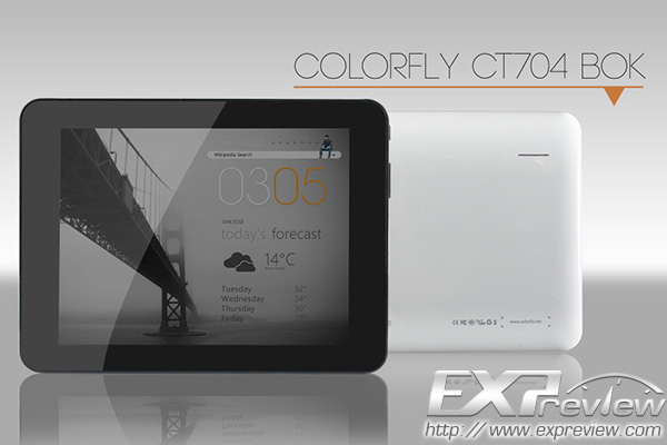 Colorful Colorfly CT704 BOK