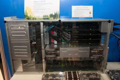 Суперкомпьютер с 4 GPU платами