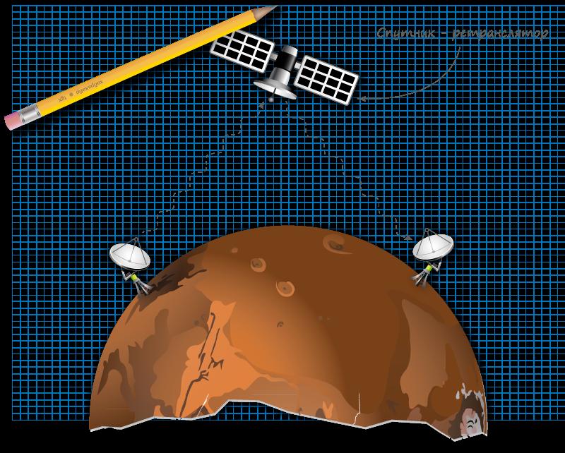 Связь на Марсе