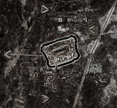 Таинственные текстуры в пустыне Такла Макан на Google Earth получили объяснение